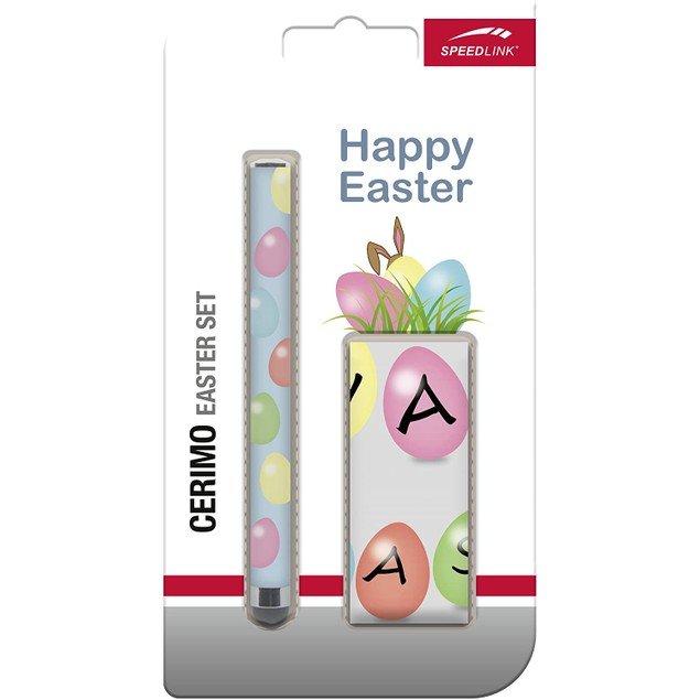 Speedlink Cerimo Easter (Stylus and Cloth) Set