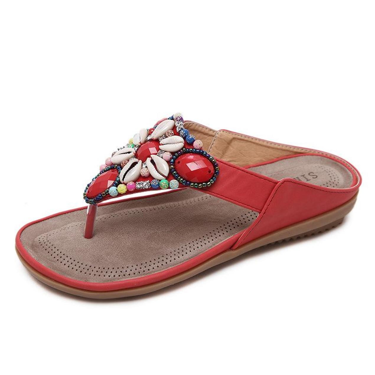624370bcf Comfy sandals - Bohemia Flip Flops - Tanga