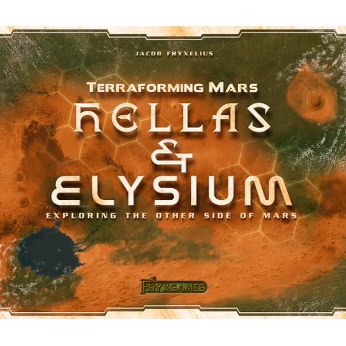 Terraforming Mars: Hellas and Elysium Expansion Board Game