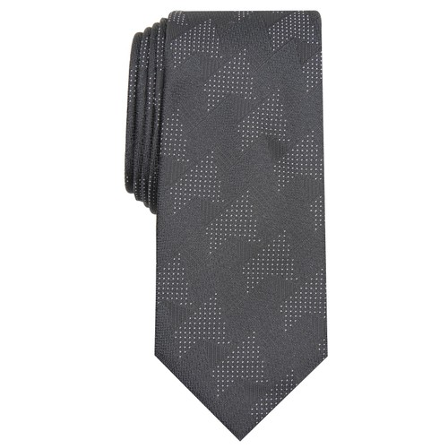 Alfani Men's Slim Abstract Tie Black Size Regular