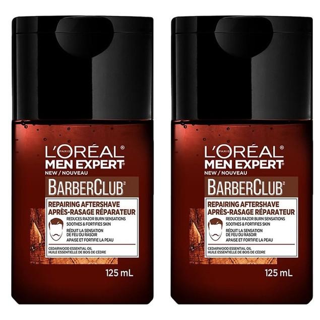 L'Oreal Men Expert Barber Club Reinforcing After Shave Balm (Pack of 2)