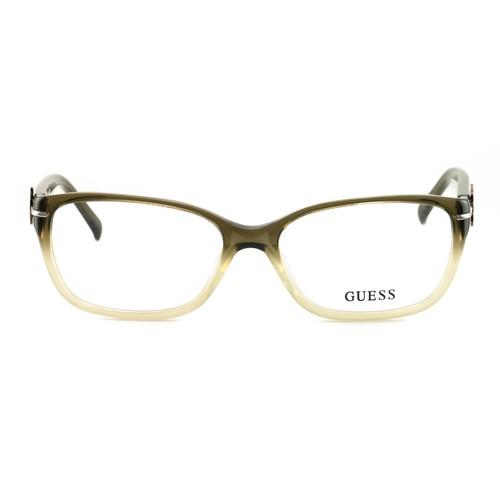 Guess Women's Eyeglasses GU 2303 M64 Olive 56 16 135 Full Rim