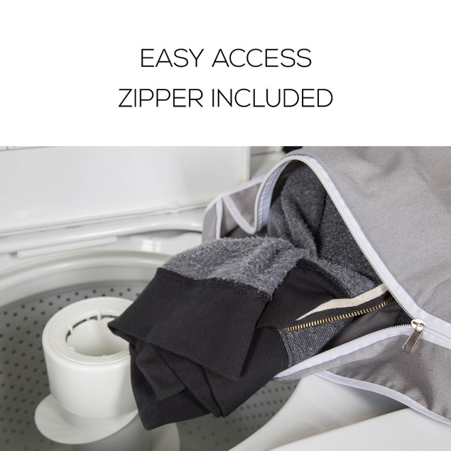 2-Pack LaundryMate LM3132 Hanging Laundry Hamper w/ Zipper