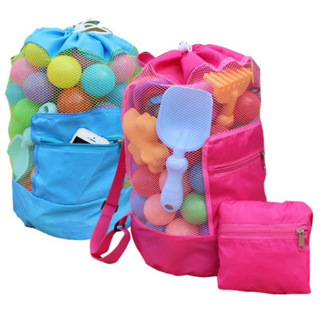 Foldable Kids Mesh Backpack