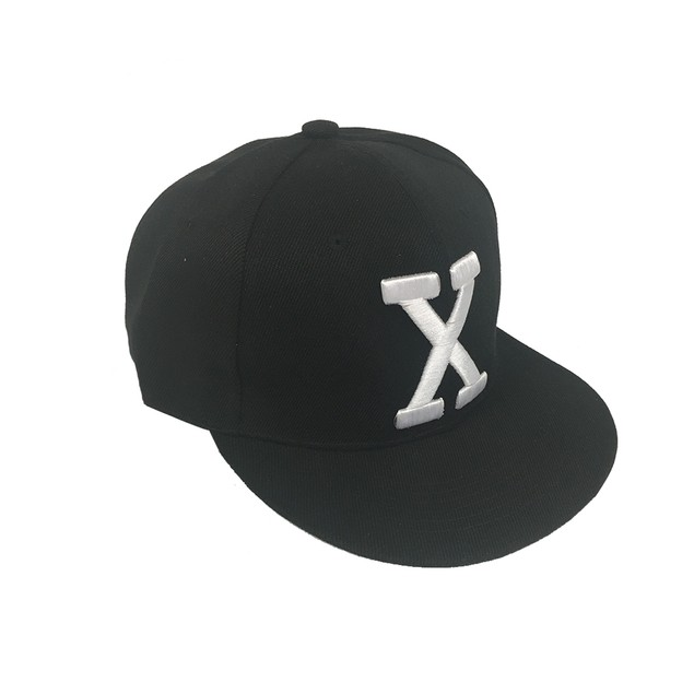 Malcolm X By Any Means Necessary Black Snapback Baseball Cap