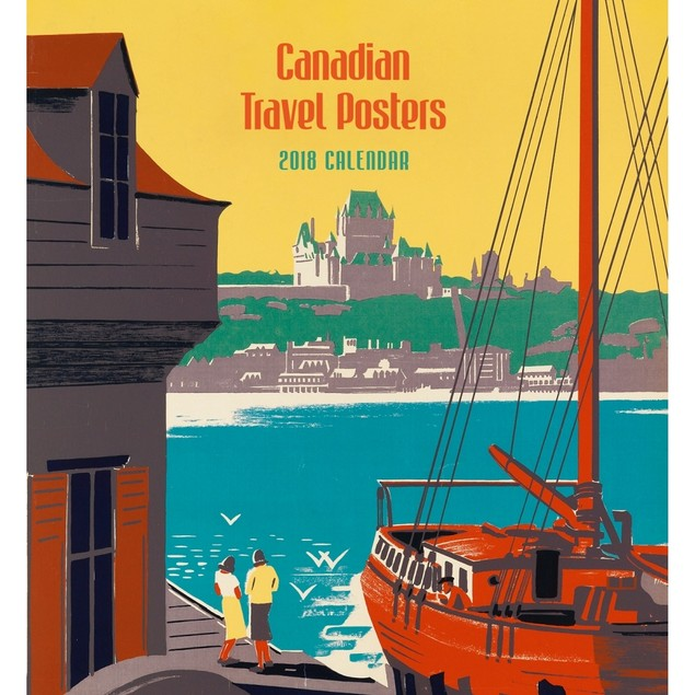 Canadian Travel Posters Wall Calendar, Canada by Calendars