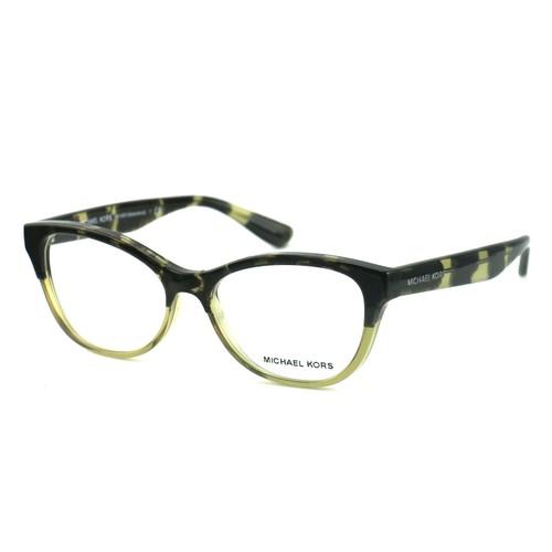 Michael Kors Women's Eyeglasses MK4051 SALAMANCA 3317 Olive Tortoise 52 15 135