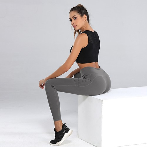 Women's Pocket Quick-Drying Sports Yoga Pants
