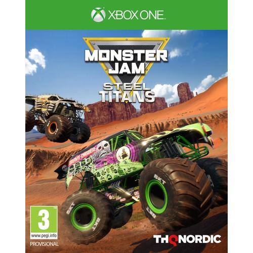 Monster Jam Steel Titans Xbox One Game