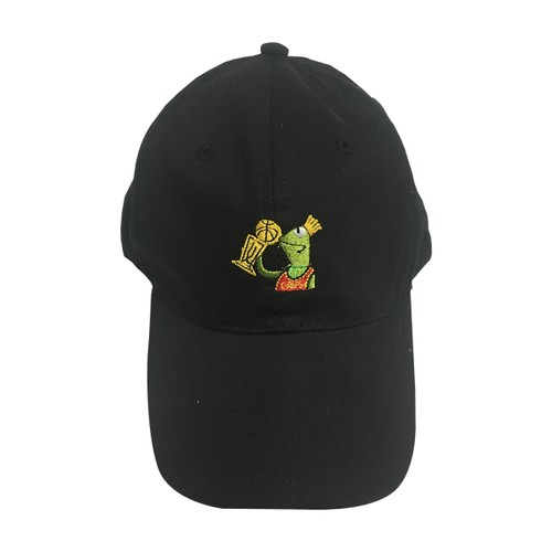 Kermit Kissing Trophy But That's None Of My Business Black Hat