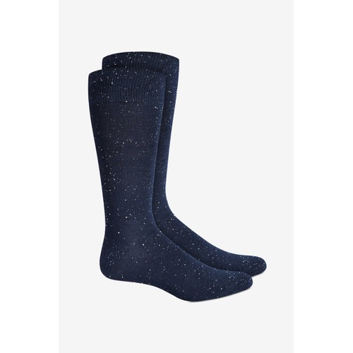 Alfani Men's Speckled Socks  Med Blue Size 10-13