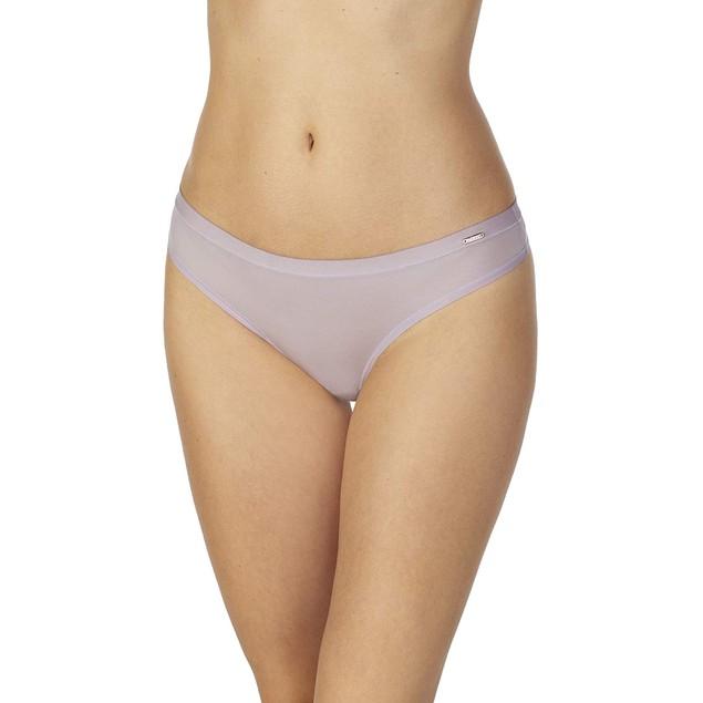 Le Mystere Women's Infinite Comfortable Thong Panty, L/X-L, Moon Flower
