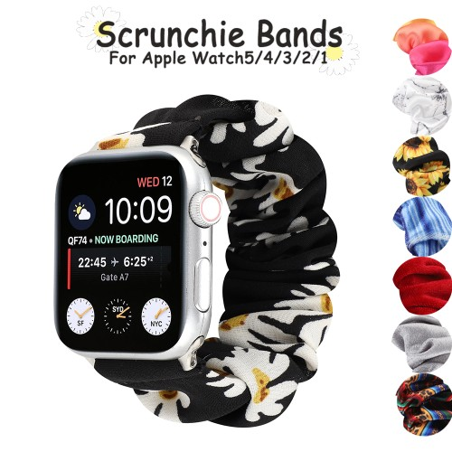 8 Styles Elastic Strap Apple Watch Band