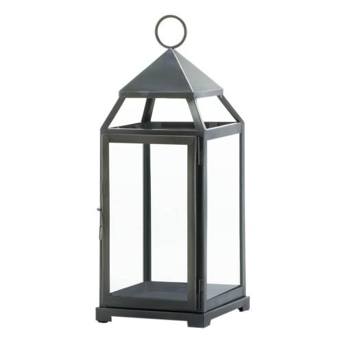 Koehler Home decor Rustic Silver Contemporary Lantern