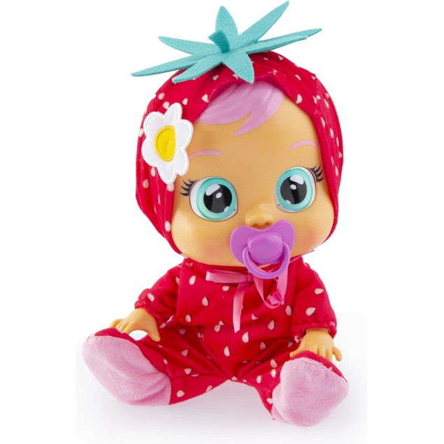 Cry Babies Strawberry Ella Interactive Doll