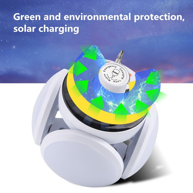 Multifunctional Solar Led Rechargeable Light Bulbs Mobile Night Market Lights Stall Lights Outdoor