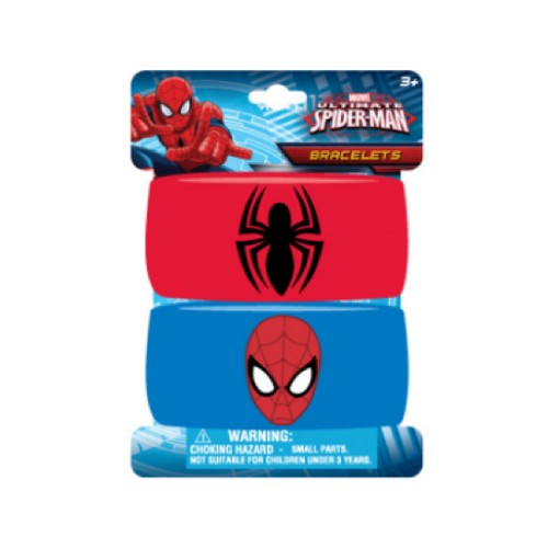 Kids Spiderman embroidered wristband bracelets