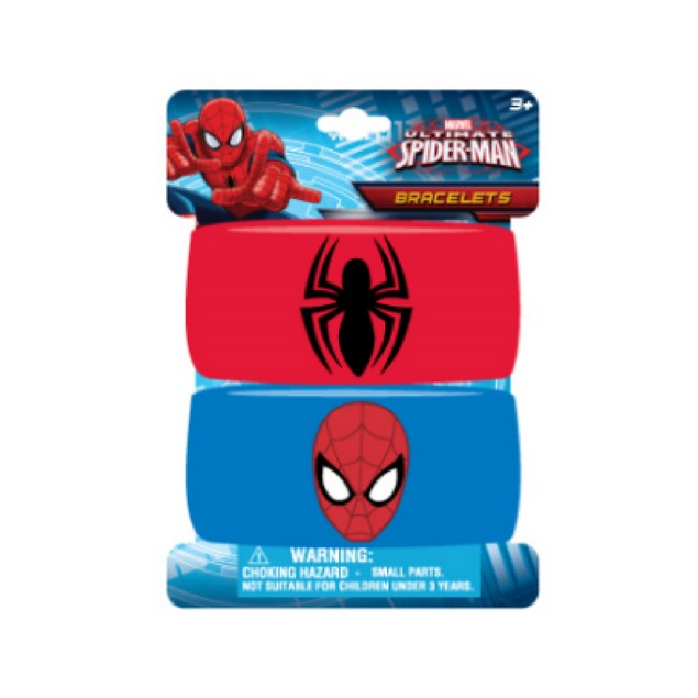 Kids Spiderman embroidered wristband bracelets