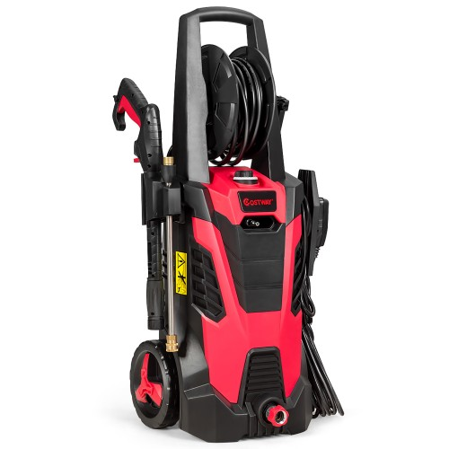 Costway 3500 PSI 2.1GPM Electric Pressure Washer w/ 5 Nozzles