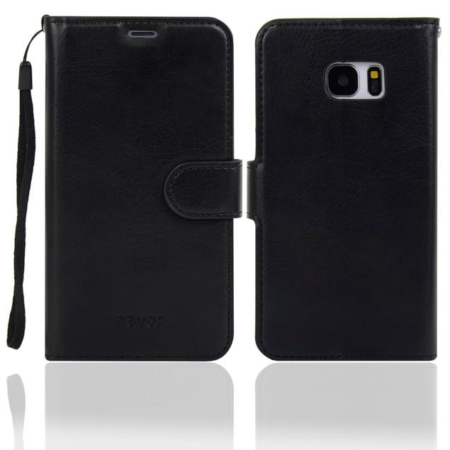 Navor Protective Flip Wallet Case for Samsung Galaxy S7 Edge