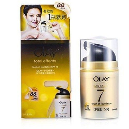 OlayTotal Effects Touch Of Foundation SPF 15