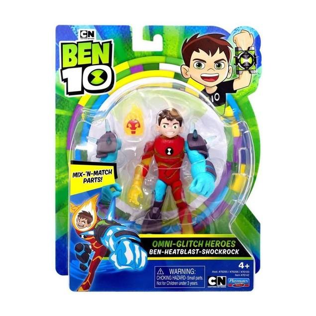 Heatblast Omni Glitch (Ben 10) Action Figure
