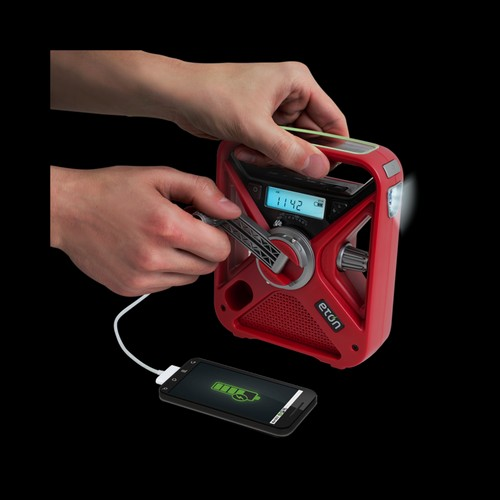 The American Red Cross FRX3 Emergency Weather Radio USB Smartphone Charger