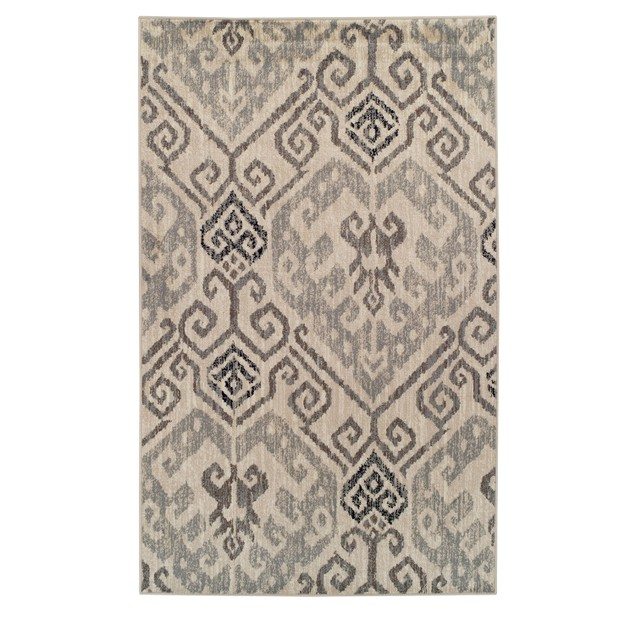 Damask Area Rug Collection