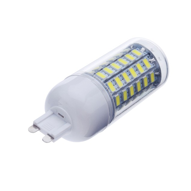 E14 15W 69 LEDS 5730 Chip SMD Corn Light Bulb Lamp With Cover Warm/Pure
