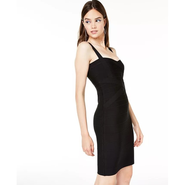 Bebe Women's Bandage Dress Black Size Small