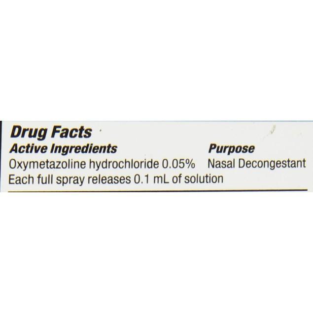 NeilMed SinuFrin Decongestant, Quick Nasal Congestion Relief, 0.5 Fluid Oz