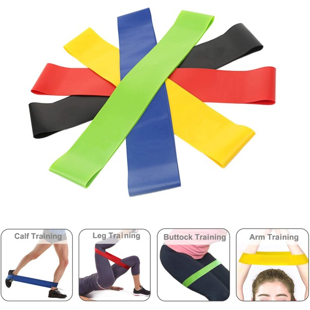 Set of 5 Resistance Loop Exercise Bands