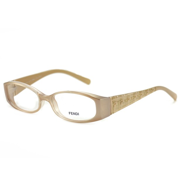 Fendi Women's Eyeglasses F626 664 Light Pink 50 16 135 Full Rim Oval