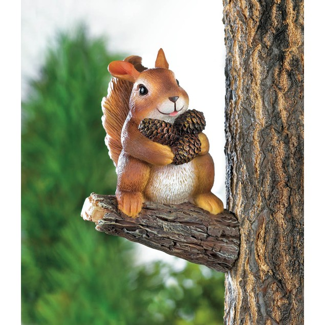Koehler Home Decor Gathering Squirrel Tree Decor