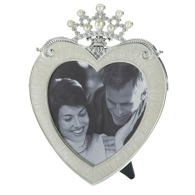Koehler Home Decor Crown Heart Picture Frame 5 X 5