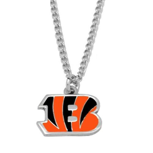 NFL Cincinnati Bengals Logo Necklace Charm Pendant