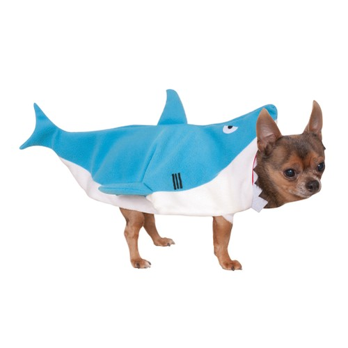 Shark Attack Pet Costume Dog Puppy Cat Funny Fun Jaws Great White Fish