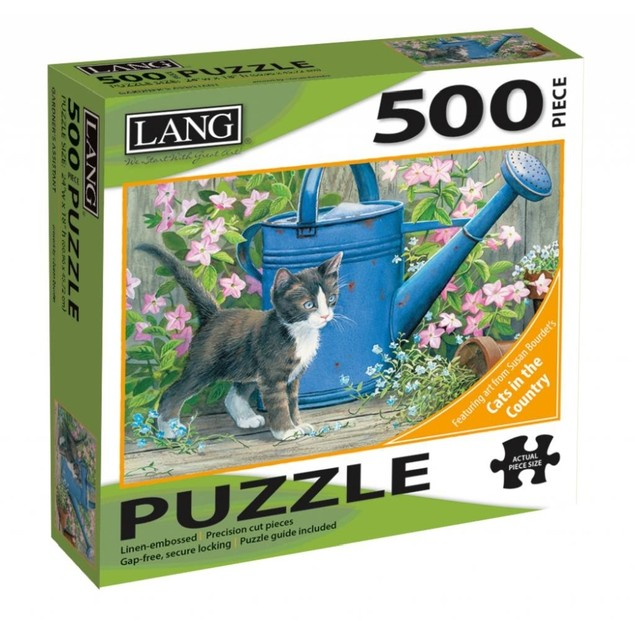 Gardner's Assistant 500 Piece Puzzle, 500 Piece Puzzle by Lang Companies