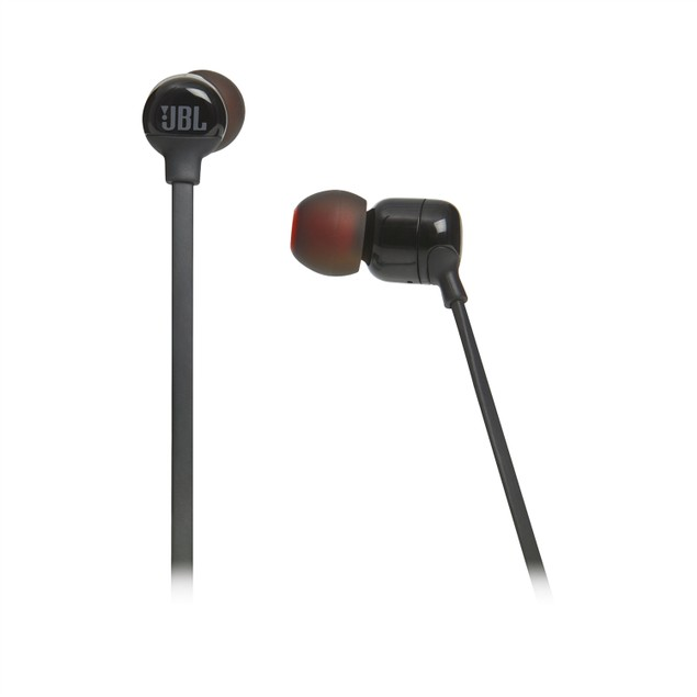 JBL Tune 110BT Wireless in-Ear Headphones, Black (New Open Box)