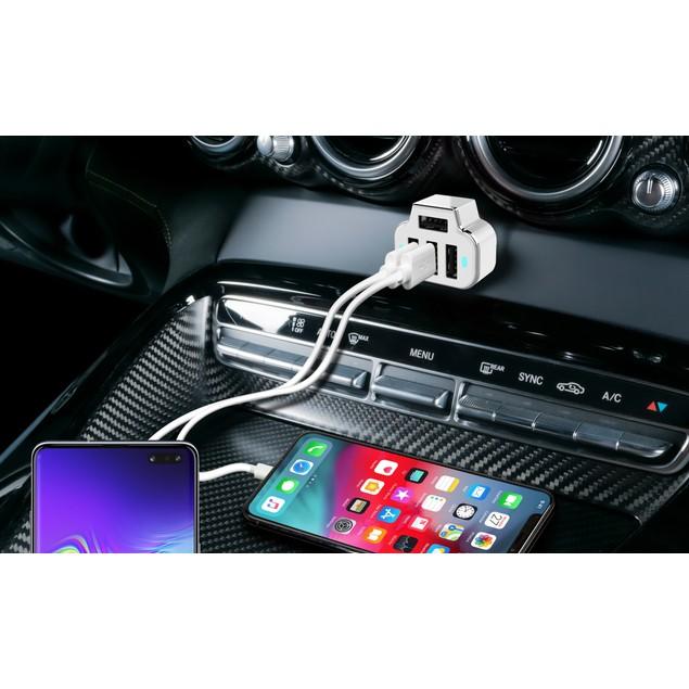 Aduro PowerUp 4 Port USB Car Charger
