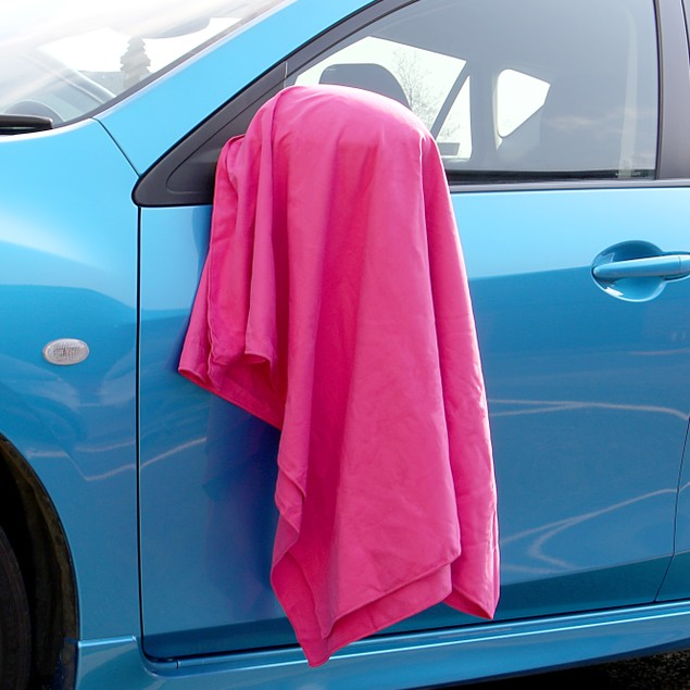 Quick Drying Microfiber Towel   Pukkr Pink Small (50x30cm)