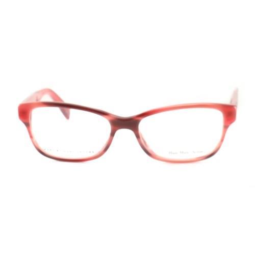 Marc by Marc Jacobs Women's Eyeglasses MMJ 617 KVN Red/Havana 52 16 140