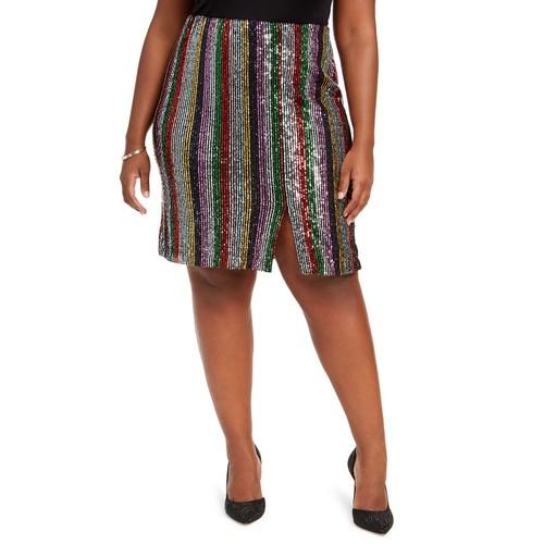 INC International Concepts Women's  Plus Skirt  Black Size 2 Extra Large