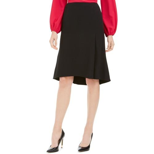 Kasper Women's Flare Hem Skirt Black Size Petite 1