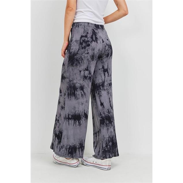 Tie Dye Elastic Waist Pants