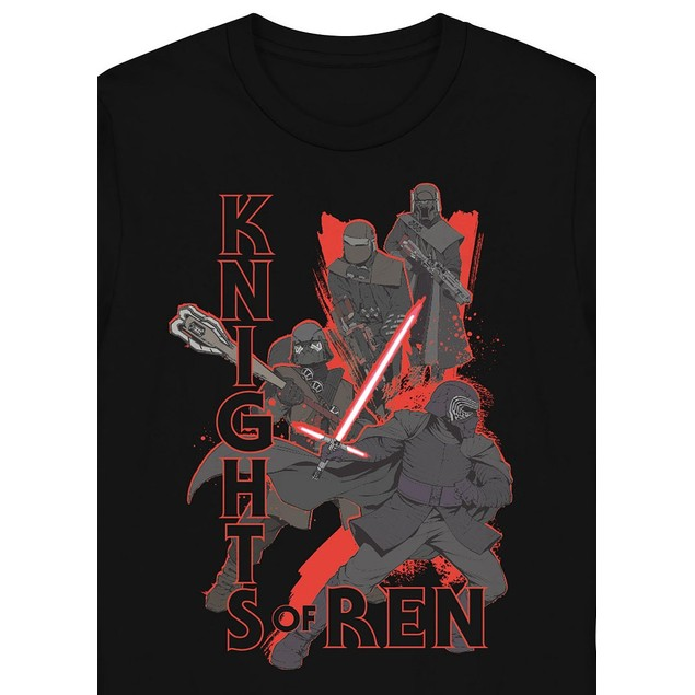 Hybrid Men's Star Wars Knights Of RenSweatshirt Black Size XX-Large