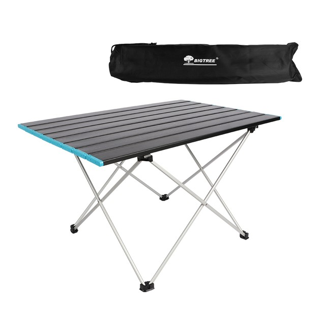 BIGTREE Foldable Ultralight Camping Table With Storage Bag