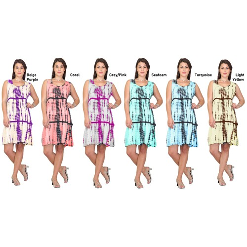 Women's Sleeveless Casual Dress, Summer Dress Sun Dress, Umbrella Dress