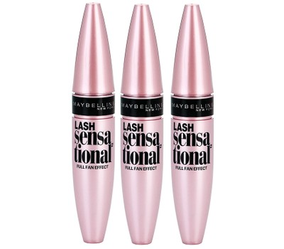Maybelline Lash Sensational Full Fan Effect Volumizing Mascara - Pack of 3 Was: $29.99 Now: $15.99.
