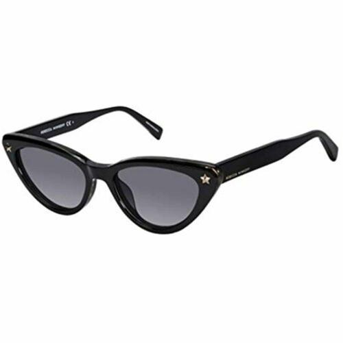 Rebecca Minkoff Sunglasses Women Brooke 1/S Black Cat-Eye Grey Gradient